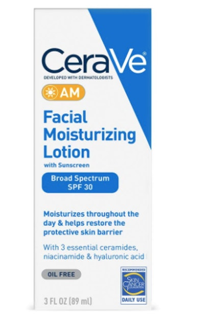 CeraVe Facial Moisturizing Lotion With Sunscreen SPF 30 (3 Oz)