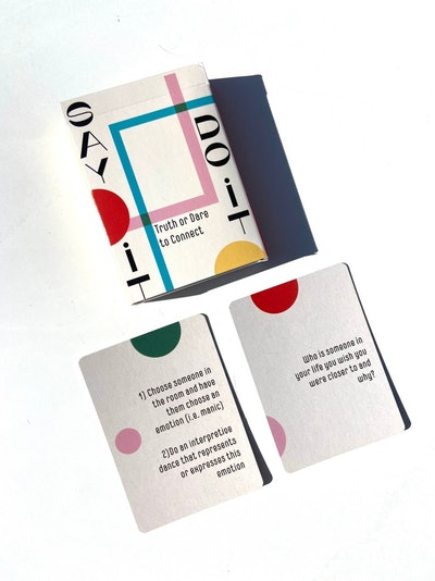 Say it Do it Reflection Cards