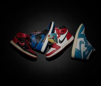 Air Jordan sneaker samples