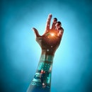 Bionic technology arm