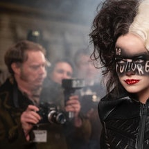 For Cruella's hair and makeup looks, Nadia Stacey was inspired by both punk and drag cultures.