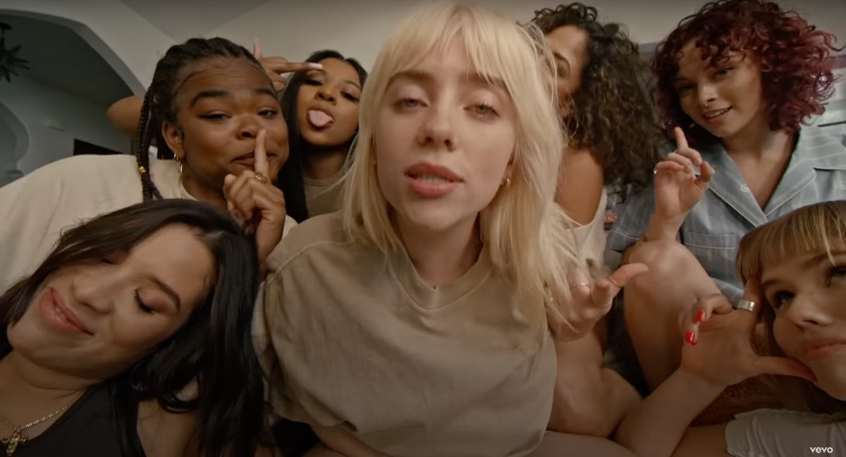 """Billie Eilish appears in her new music video for """"Lost Cause,"""" written about an ex."""