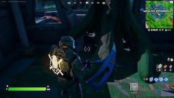 fortnite artifact location 1 gameplay