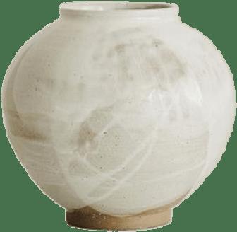Seoyen Choi Moon Jar Brown/White