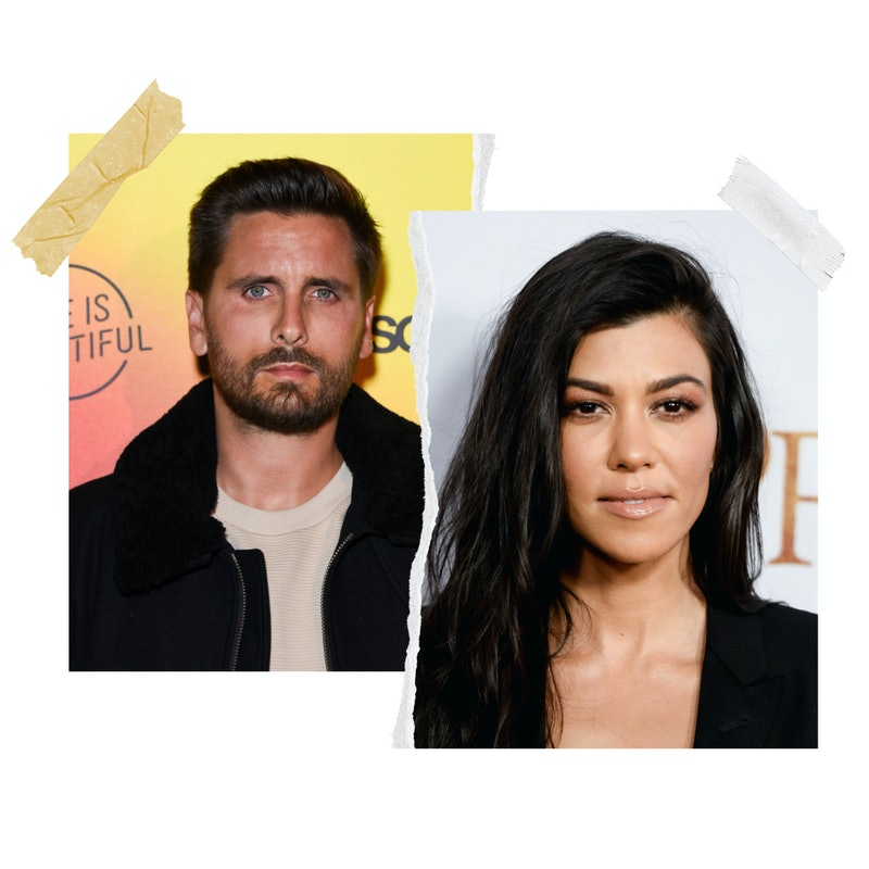 kourtney kardashian and scott disick opened up about where they stand
