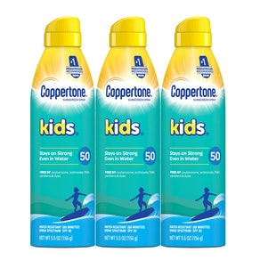 Coppertone KIDS Sunscreen Continuous Spray SPF 50 (3-Pack)