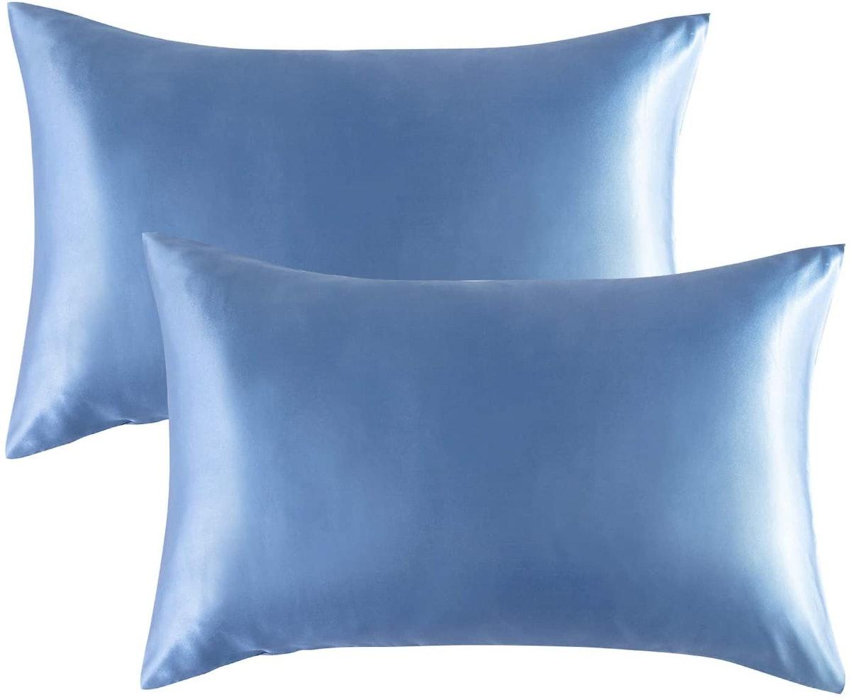 Bedsure Satin Pillowcases Standard Set of 2
