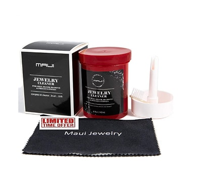 Maui Liquid Jewelry Cleaner Solution Complete kit