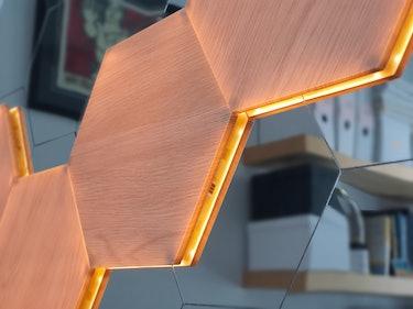 Nanoleaf Elements side illumination