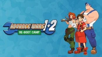 screenshot of the Advance Wars game for the nintendo switch, featuring a grid-based map