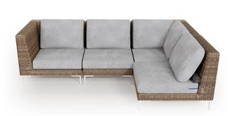 Outdoor L Sectional - 4 Seat