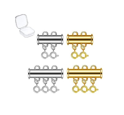 kcctoo Slide Clasp Lock for Necklace