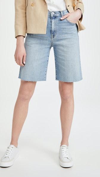 Boyfriend Bermuda Shorts