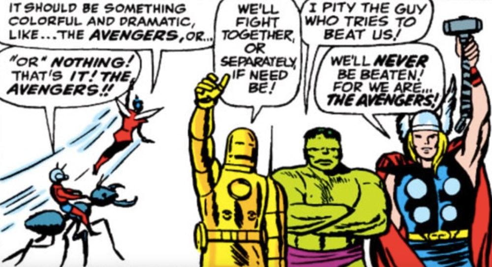 The original Avengers.