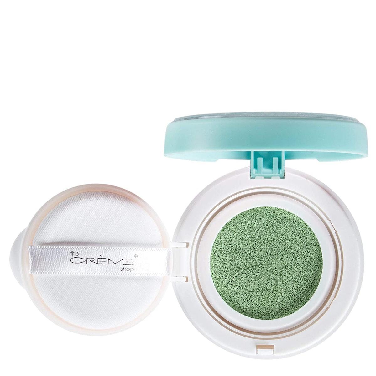 The Crème Shop Clean Canvas Color Correcting Face Makeup Cushion Primer