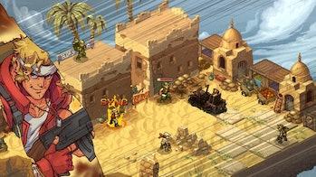 screenshot of the PC game, Metal Slug Tactics