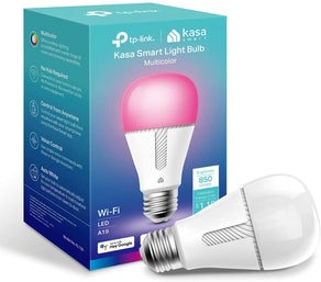 Kasa Smart Bulb, Full Color Changing Dimmable WiFi LED Bulb