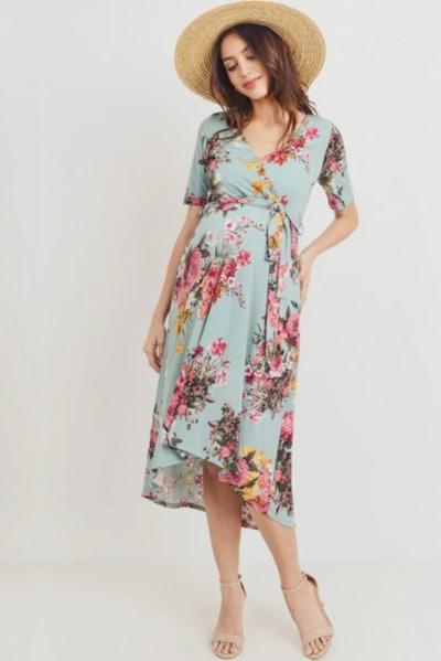 Becky Maternity & Nursing Dress