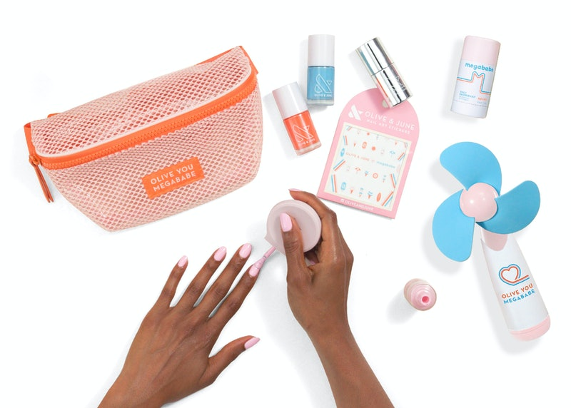 Bustle Exclusive: Olive & June is teaming up with Megababe to launch a limited-edition Olive You Kit. It has everything you need for the perfect summer mani.