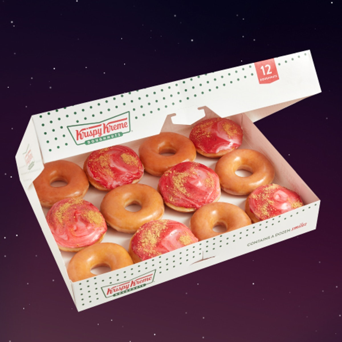 Krispy Kreme's Strawberry Supermoon doughnut is a limited-time treat.