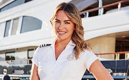 Katie Flood on Below Deck Mediterranean via the NBC press site
