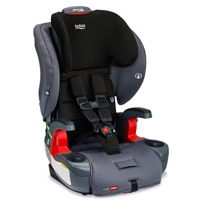 Britax Grow with You ClickTight Harness-2-Booster Car Seat in Cobblestone SafeWash