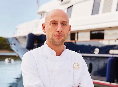Matthew Shea on Below Deck Mediterranean via the NBC press site