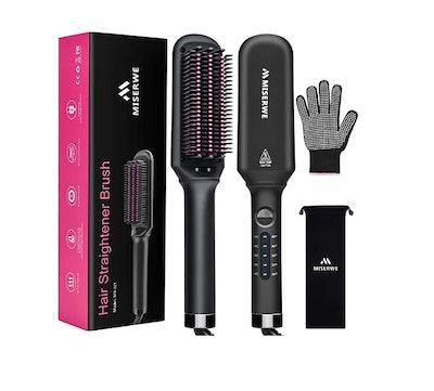 MISERWE Hair Straightener Brush