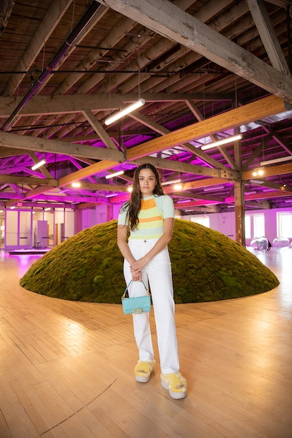 Chase Sui Wonders at Ugg's 'Feel Good' Platform with LMCC and Meg Webster's 'Wave' Exhibit.
