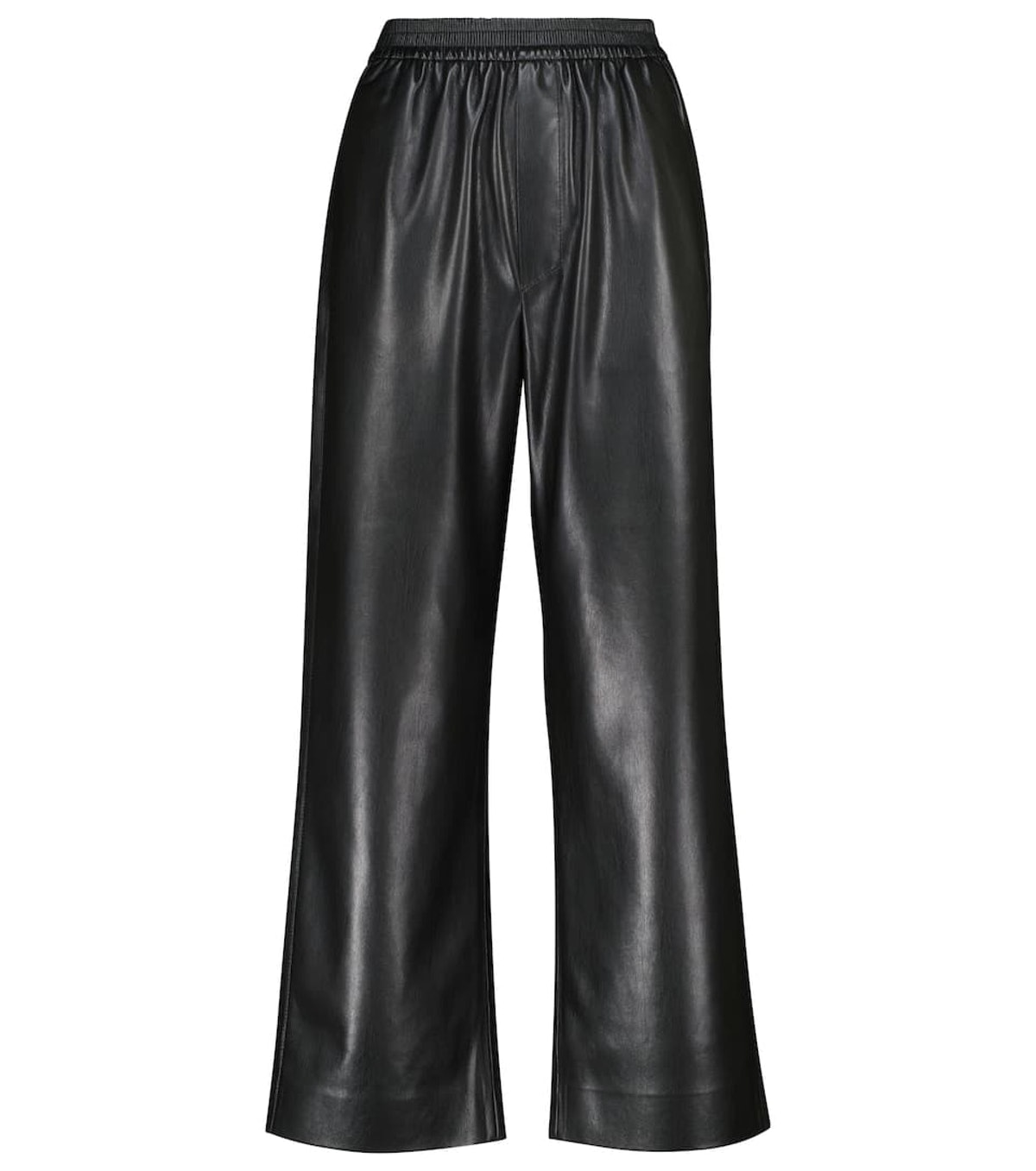 Odessa Faux Leather Wide-Leg Pants