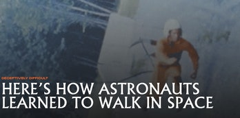 Walking through space is a notoriously difficult task. But over time we've learned how to train our ...
