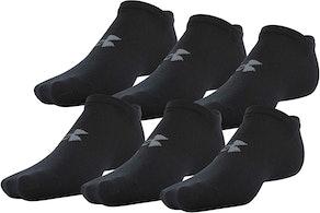 Under Armour Adult Essential Lite Socks (6-Pack)