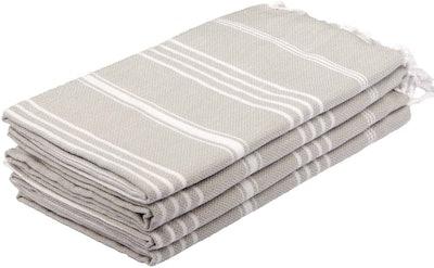 Clotho Turkish Hand Towels (Set of 4)