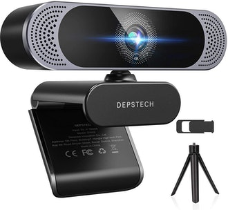 DEPSTECH HD 8MP Sony Autofocus Webcam with Microphone