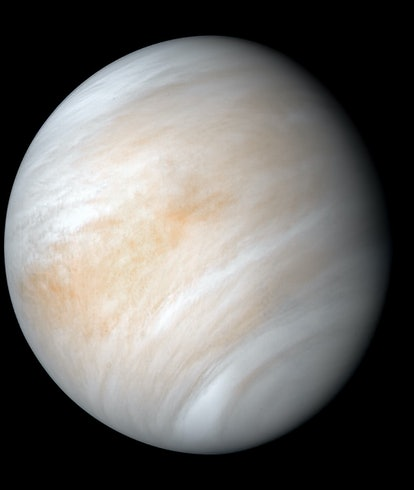 An image of Venus, as seen from Mariner 10