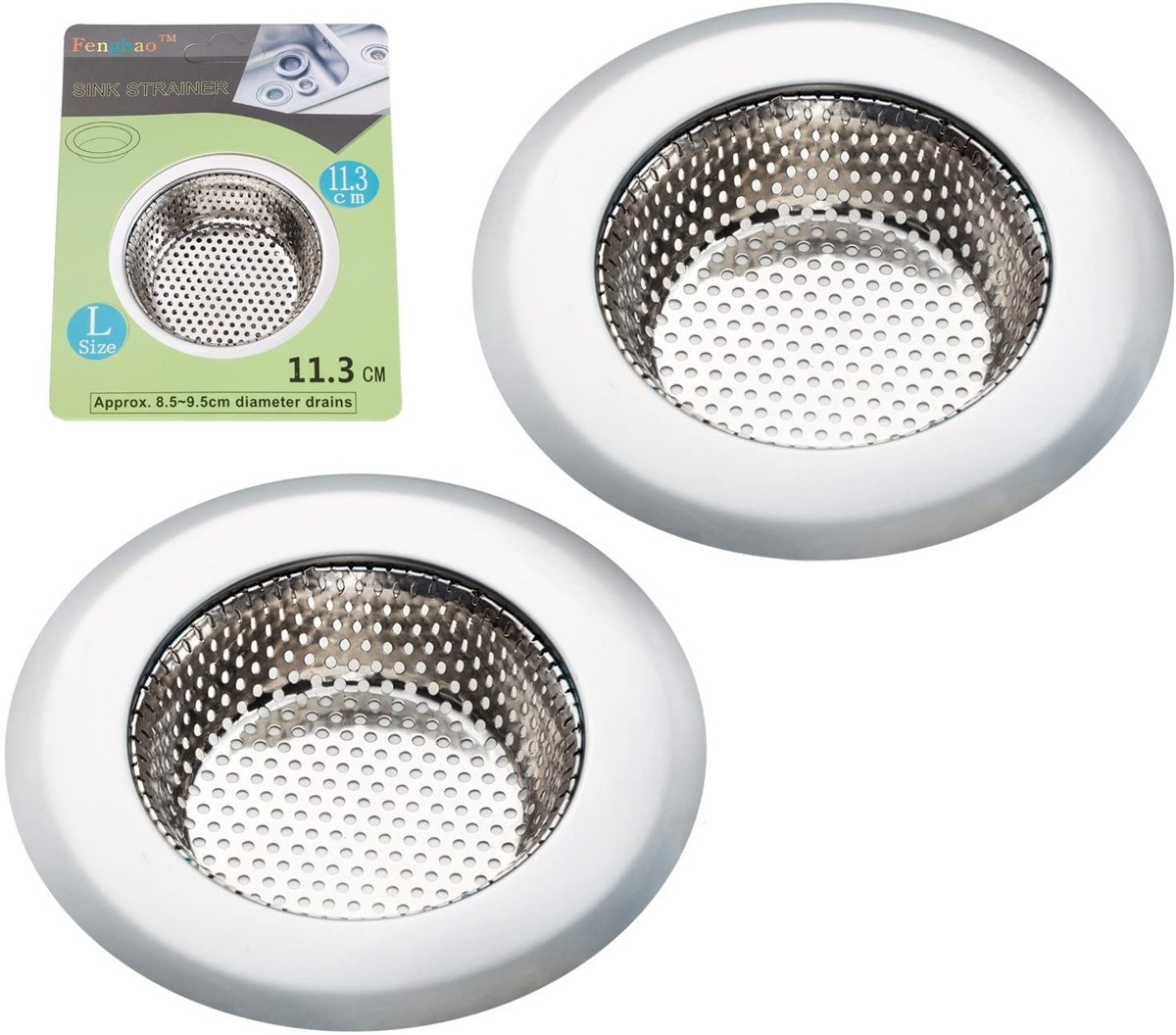 Fengbao Kitchen Sink Strainers (Set of 2)
