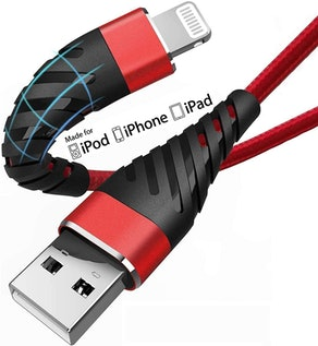CyvenSmart iPhone Lightning Charging Cables (10 Ft. 2-Pack)