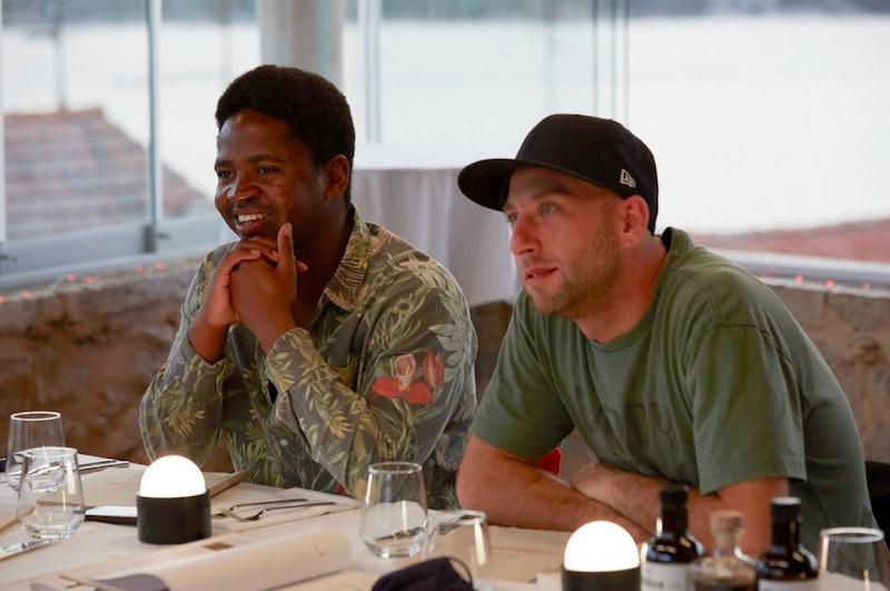 """Mzi """"Zee"""" Dempers and Matthew Sea, two cast members from 'Below Deck Med' Season 6"""
