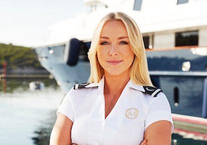 Courtney Veale on Below Deck Mediterranean via the NBC press site