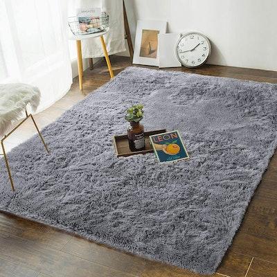 Andecor Soft Fluffy Bedroom Rug