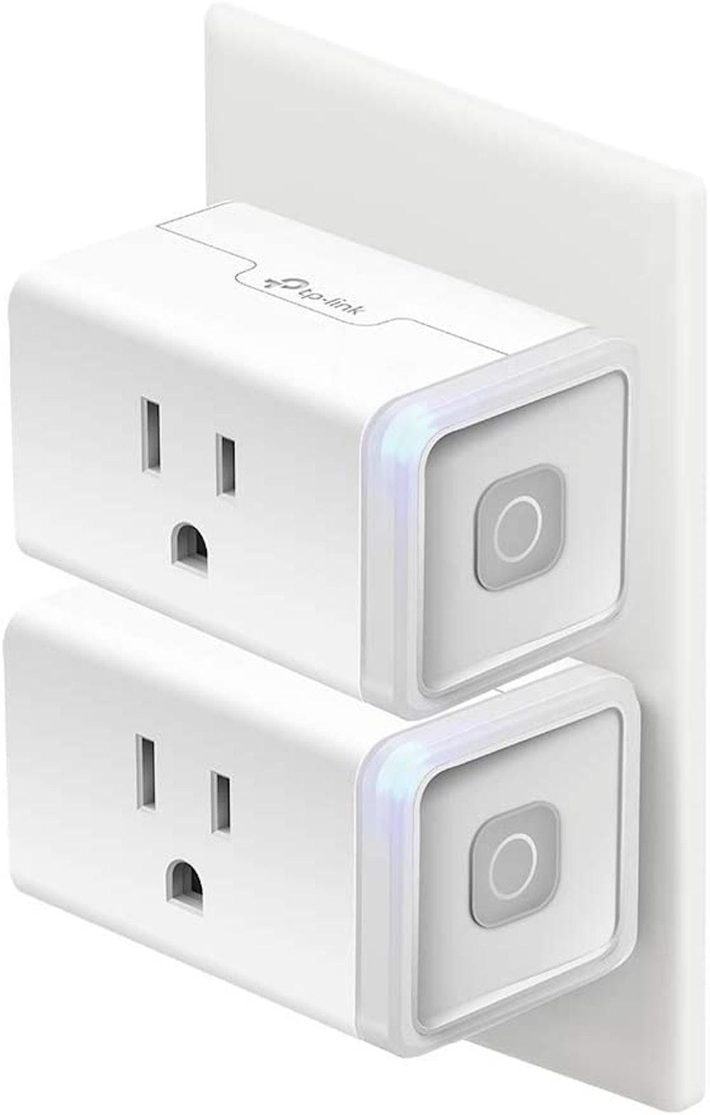 2-Pack Kasa Smart Plugs (Works with Alexa, Echo, Google Home & IFTTT)