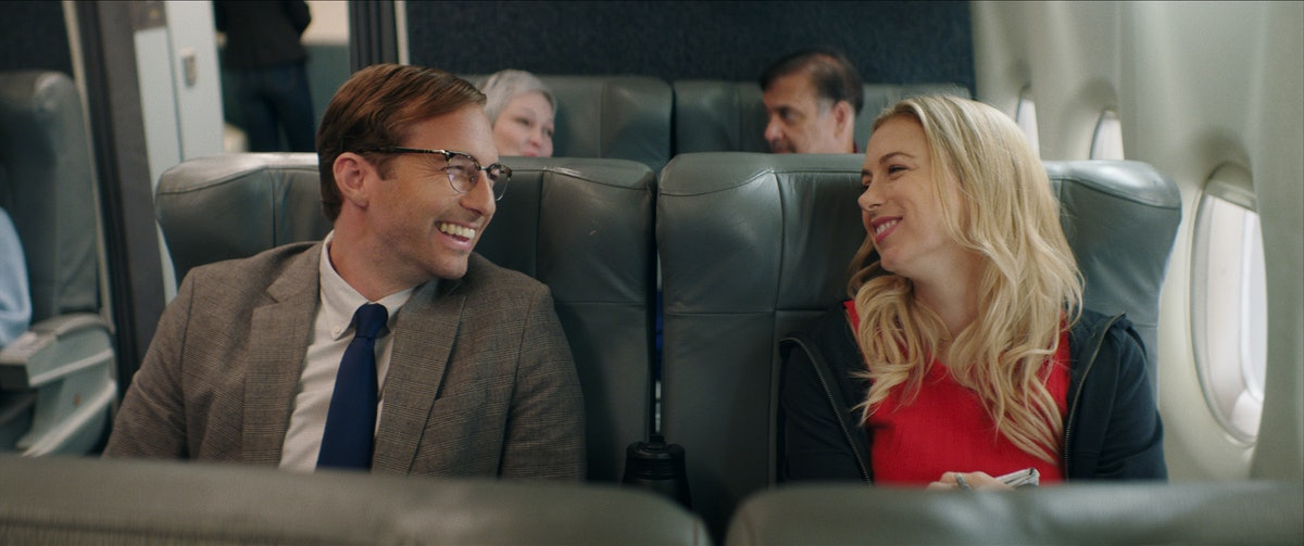Iliza Shlesinger appears in the film 'Good on Paper,' via the Netflix press site.