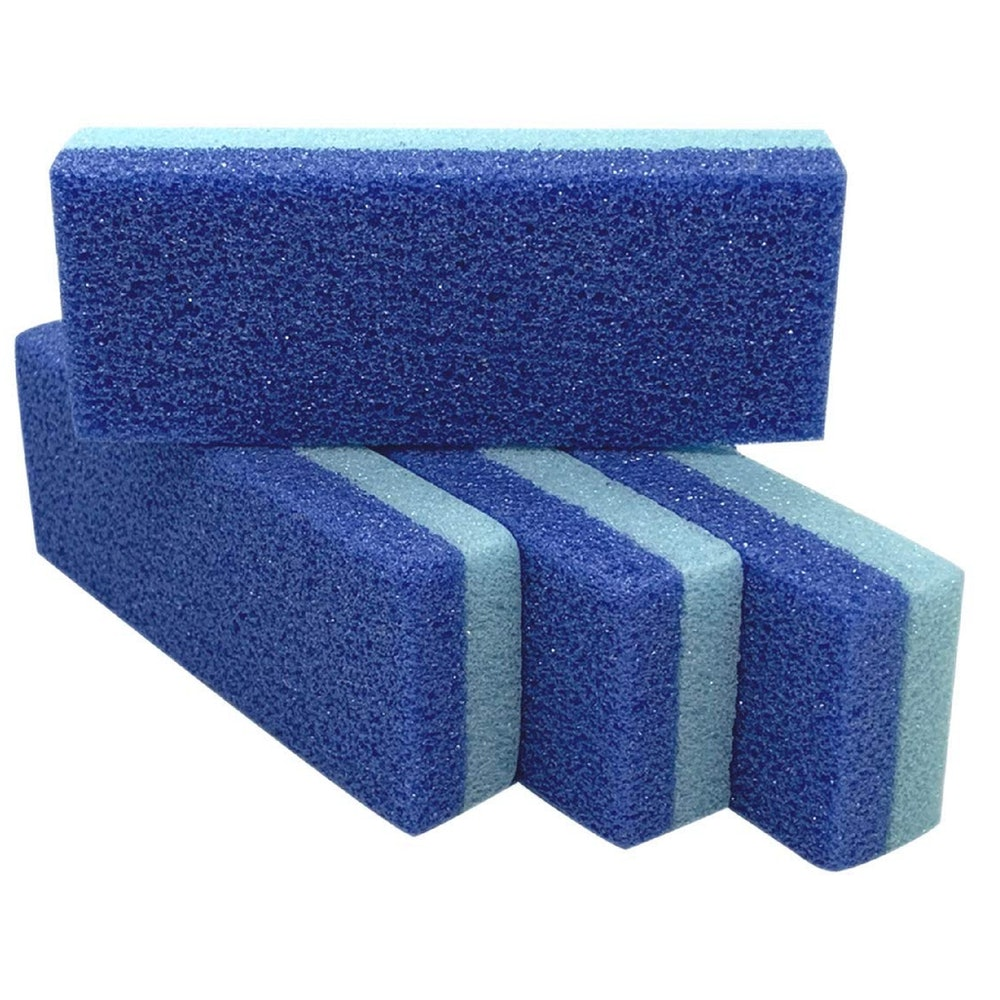 Foot Pumice Stone - Skin Callus Remover & Scrubber (4-Pack)