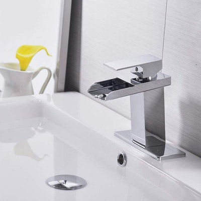 BWE Waterfall Bathroom Faucet