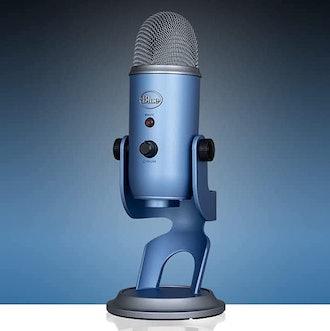 Blue Yeti USB Microphone with Custom Finish & Multiple Pickup Patterns