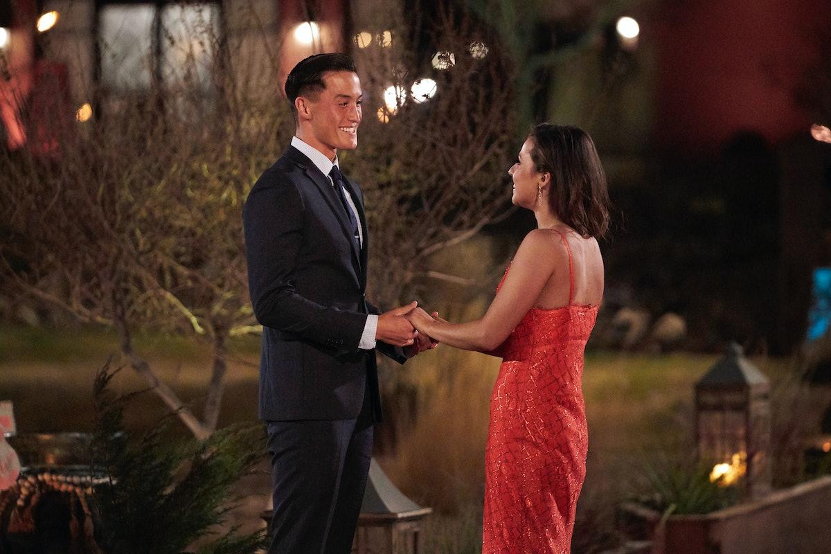 Katie Thurston and John Hershey in 'The Bachelorette' Season 17