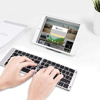 Samsers Foldable Bluetooth Keyboard