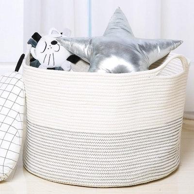 Goodpick XXXLarge Cotton Rope Basket