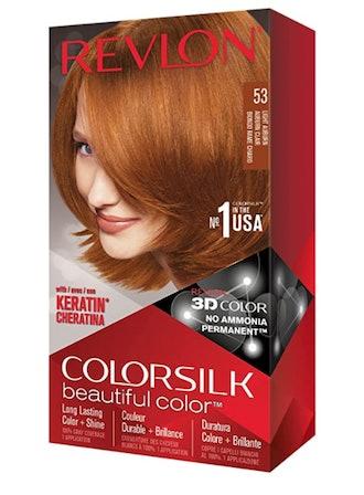 Revlon ColorSilk Haircolor, Light Auburn