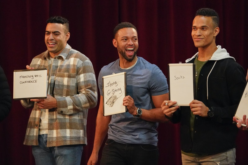 Bachelorette Contestants, Justin, Karl and Quartney